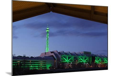 Berlin, Radio Tower, Icc, Evening-Catharina Lux-Mounted Photographic Print