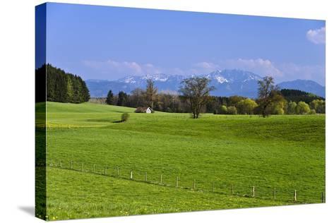 Germany, Bavaria, Upper Bavaria, Pfaffenwinkel (Region), Antdorf-Udo Siebig-Stretched Canvas Print