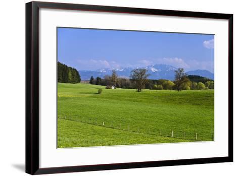 Germany, Bavaria, Upper Bavaria, Pfaffenwinkel (Region), Antdorf-Udo Siebig-Framed Art Print