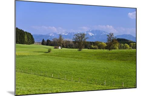 Germany, Bavaria, Upper Bavaria, Pfaffenwinkel (Region), Antdorf-Udo Siebig-Mounted Photographic Print