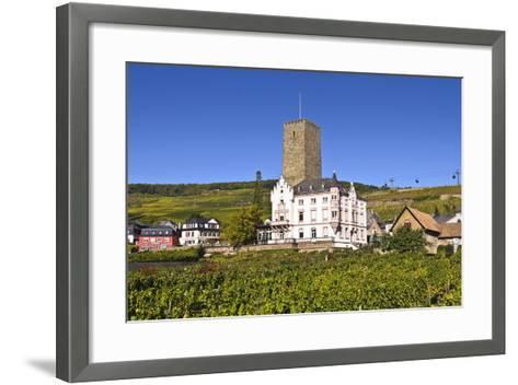 Germany, Hesse, Rheingau (Region), RŸdesheim Am Rhein (Town), Boosenburg-Udo Siebig-Framed Art Print
