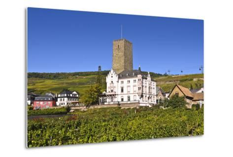 Germany, Hesse, Rheingau (Region), RŸdesheim Am Rhein (Town), Boosenburg-Udo Siebig-Metal Print
