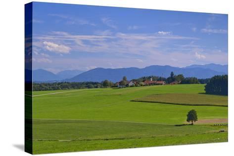 Germany, Bavaria, Upper Bavaria, 'FŸnf Seen Land' (Region), Eurasburg-Udo Siebig-Stretched Canvas Print