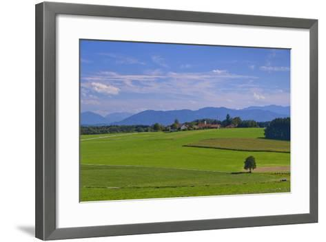 Germany, Bavaria, Upper Bavaria, 'FŸnf Seen Land' (Region), Eurasburg-Udo Siebig-Framed Art Print
