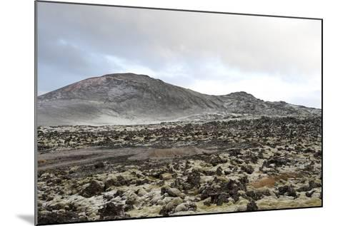 Lavafields and Hills, Hnappadalur, Snaefellsnes, West Iceland-Julia Wellner-Mounted Photographic Print