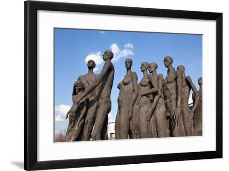 Moscow, Victory Park, Holocaust Memorial-Catharina Lux-Framed Art Print