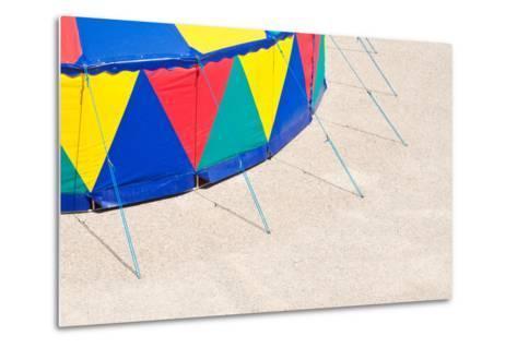 Circus Tent, Side Wall, Detail-Alexander Georgiadis-Metal Print