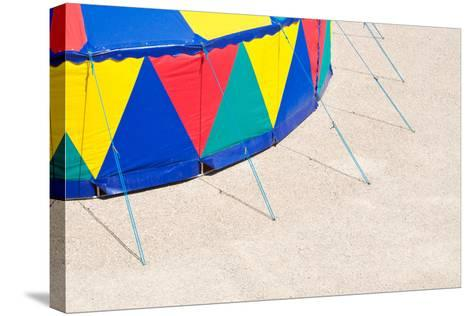 Circus Tent, Side Wall, Detail-Alexander Georgiadis-Stretched Canvas Print