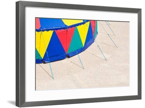 Circus Tent, Side Wall, Detail-Alexander Georgiadis-Framed Art Print