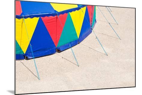 Circus Tent, Side Wall, Detail-Alexander Georgiadis-Mounted Photographic Print