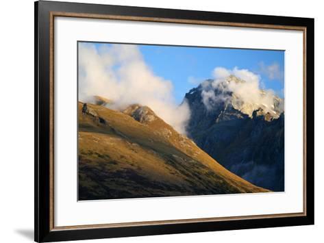New Zealand, South Island, Fjordland National Park, Routeburn Track-Catharina Lux-Framed Art Print