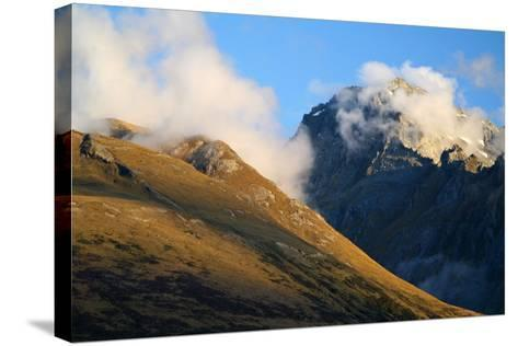 New Zealand, South Island, Fjordland National Park, Routeburn Track-Catharina Lux-Stretched Canvas Print