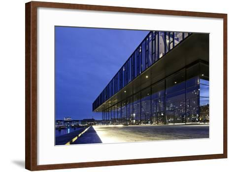 Royal Theatre, Copenhagen, Denmark, Scandinavia-Axel Schmies-Framed Art Print
