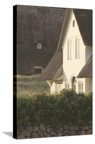 House 'Kliffende' Close Kampen (Municipality), Sylt (Island), Schleswig-Holstein, Germany-Rainer Mirau-Stretched Canvas Print