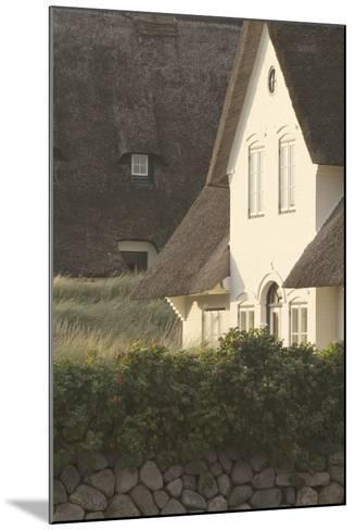 House 'Kliffende' Close Kampen (Municipality), Sylt (Island), Schleswig-Holstein, Germany-Rainer Mirau-Mounted Photographic Print
