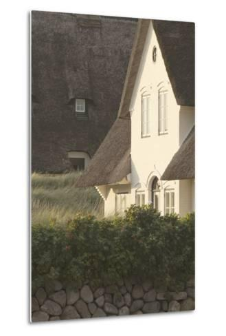 House 'Kliffende' Close Kampen (Municipality), Sylt (Island), Schleswig-Holstein, Germany-Rainer Mirau-Metal Print