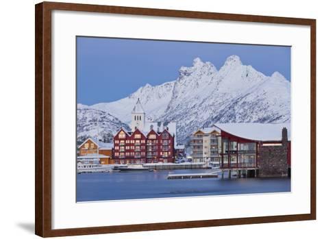 Svolvaer (Town), Austvagoya (Island), Lofoten, 'Nordland' (County), Norway-Rainer Mirau-Framed Art Print