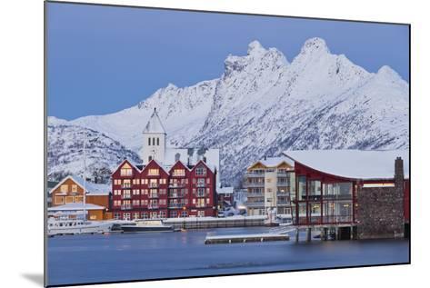 Svolvaer (Town), Austvagoya (Island), Lofoten, 'Nordland' (County), Norway-Rainer Mirau-Mounted Photographic Print