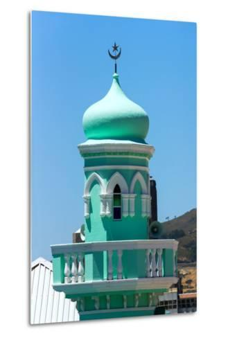 South Africa, Cape Town, Bokaap, Mosque-Catharina Lux-Metal Print
