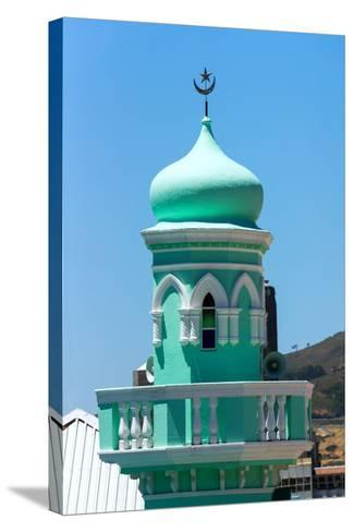 South Africa, Cape Town, Bokaap, Mosque-Catharina Lux-Stretched Canvas Print