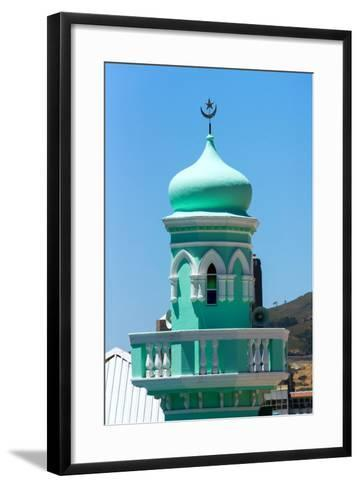 South Africa, Cape Town, Bokaap, Mosque-Catharina Lux-Framed Art Print