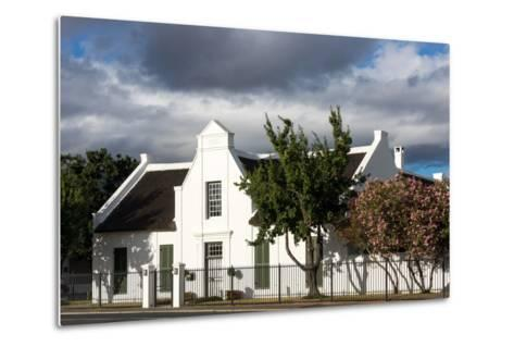 South Africa, Worcester, Typically. Afrikaans House-Catharina Lux-Metal Print