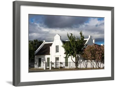 South Africa, Worcester, Typically. Afrikaans House-Catharina Lux-Framed Art Print