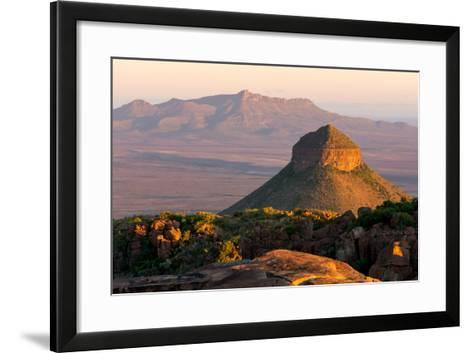South Africa, Camdeboo, Valley of Desolation-Catharina Lux-Framed Art Print