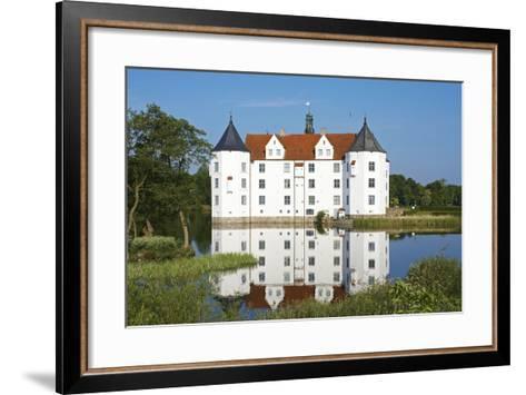 Germany, Schleswig-Holstein, GlŸcksburg, GlŸcksburg Castle, Front View-Chris Seba-Framed Art Print