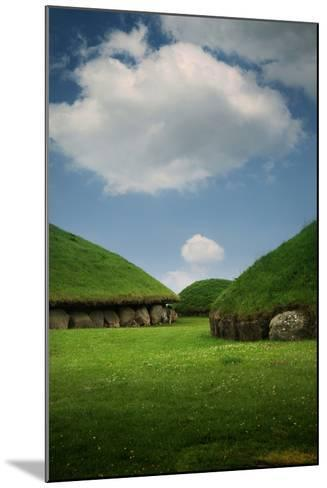 Knowth, Megalithic Ground Near Donore in the Boyne Valley, County Meath, Ireland- Bluehouseproject-Mounted Photographic Print