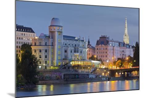 Urania, Stephansdom, Vienna River, 1st District, Internal Town, Vienna, Austria-Rainer Mirau-Mounted Photographic Print