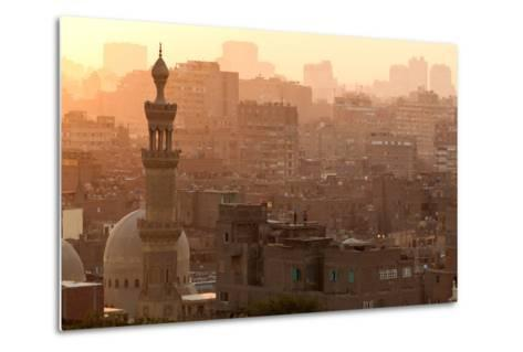 Egypt, Cairo, Islamic Old Town-Catharina Lux-Metal Print