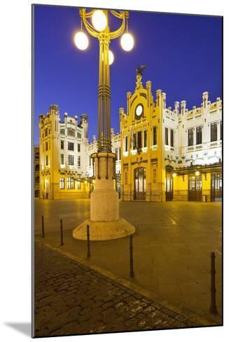 Spain, Valencia, Railway Station, Lantern-Rainer Mirau-Mounted Photographic Print