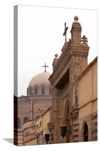 Egypt, Cairo, Coptic Old Town, Church El Muallaqa, the Hanging Church-Catharina Lux-Stretched Canvas Print