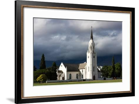 South Africa, Worcester, Dutch Reformed Church-Catharina Lux-Framed Art Print