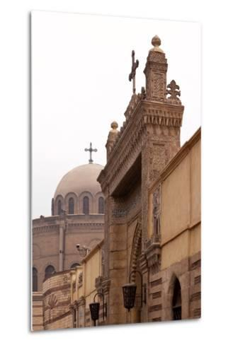 Egypt, Cairo, Coptic Old Town, Church El Muallaqa, the Hanging Church-Catharina Lux-Metal Print