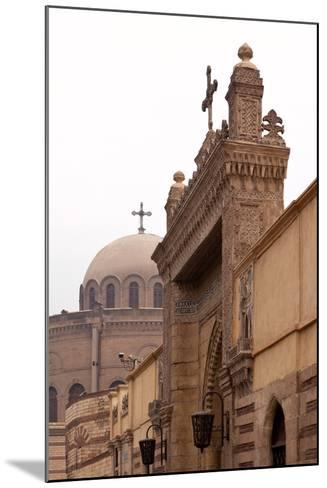 Egypt, Cairo, Coptic Old Town, Church El Muallaqa, the Hanging Church-Catharina Lux-Mounted Photographic Print