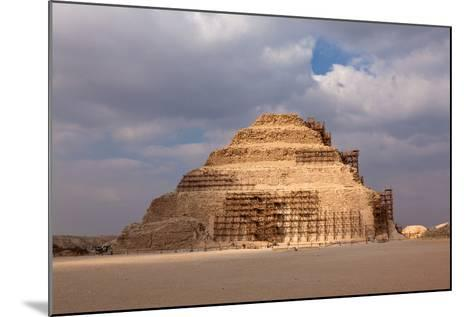Egypt, Cairo, Saqqara, Step Pyramid of Djoser, the Oldest Stone Structure of the World-Catharina Lux-Mounted Photographic Print