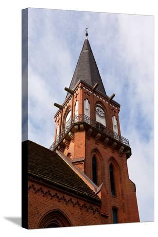 Baltic Sea Spa Wustrow, Village Church-Catharina Lux-Stretched Canvas Print