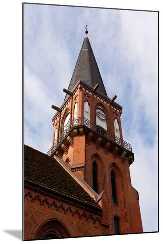 Baltic Sea Spa Wustrow, Village Church-Catharina Lux-Mounted Photographic Print