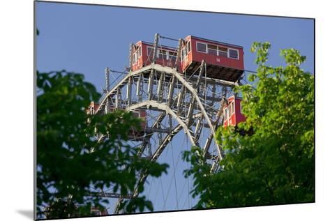 Viennese Ferris Wheel, Prater, 2nd District, Leopoldstadt, Vienna, Austria-Rainer Mirau-Mounted Photographic Print