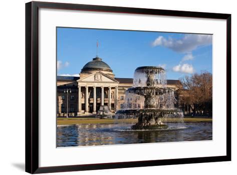 Germany, Wiesbaden, Health Resort House, Well-Catharina Lux-Framed Art Print