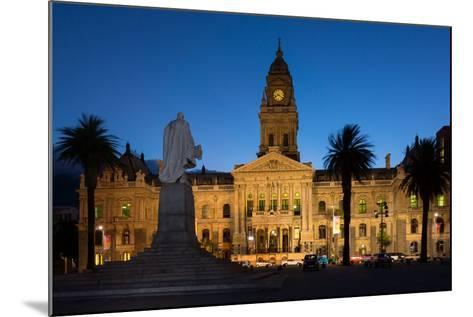 Cape Town, Historical City Hall, in the Evening-Catharina Lux-Mounted Photographic Print