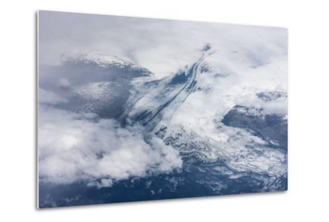 Vatnajškull, Glacier from Above-Catharina Lux-Metal Print