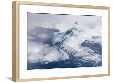 Vatnajškull, Glacier from Above-Catharina Lux-Framed Art Print