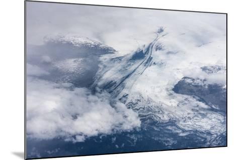 Vatnajškull, Glacier from Above-Catharina Lux-Mounted Photographic Print
