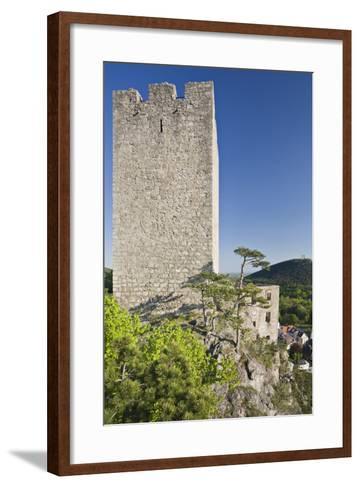 Austria, Baden Near Vienna, Helenental, Rauhenstein (Castle Ruin)-Rainer Mirau-Framed Art Print