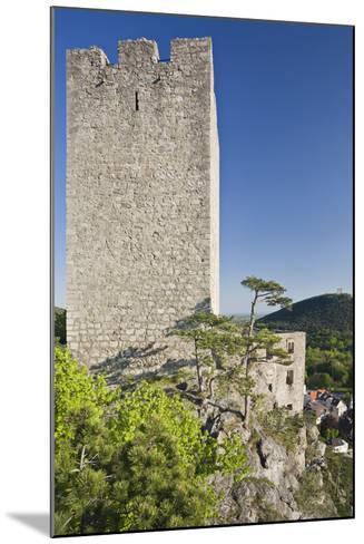 Austria, Baden Near Vienna, Helenental, Rauhenstein (Castle Ruin)-Rainer Mirau-Mounted Photographic Print