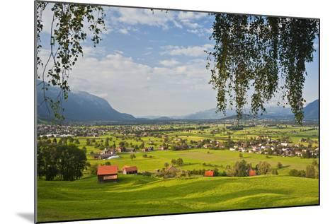 Switzerland, St. Gallen, Grabs (Valley)-Rainer Mirau-Mounted Photographic Print