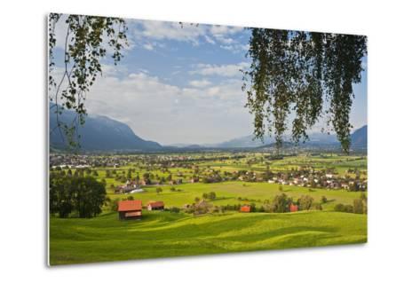 Switzerland, St. Gallen, Grabs (Valley)-Rainer Mirau-Metal Print